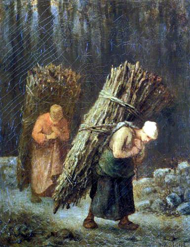 Jean-François Millet - Winter