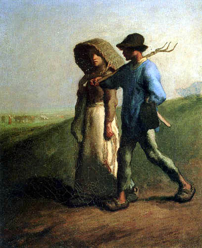 Jean-François Millet - On the way to the work