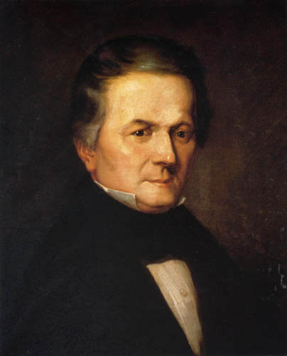 Jean-François Millet - Portrait of Doctor Vaudeville