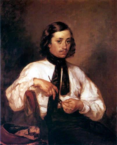 Jean-François Millet - Portrait of Armand Ono