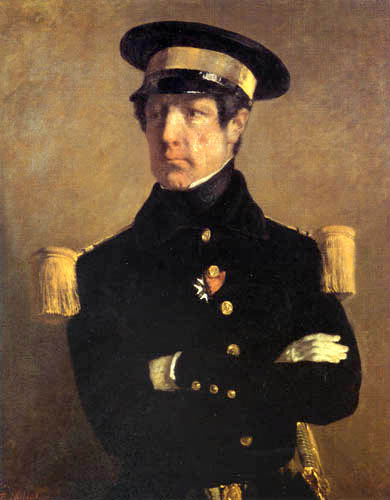 Jean-François Millet - Portrait of a naval officer