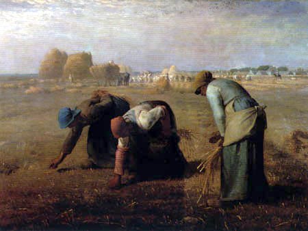 Jean-François Millet - The gleaners
