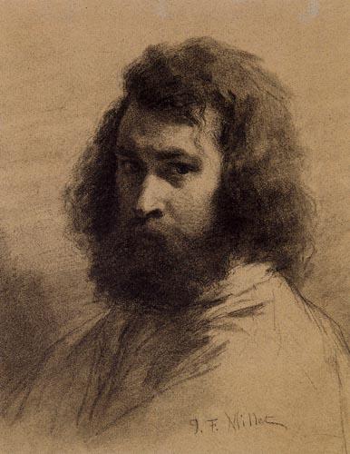 Jean-François Millet - Selfportrait