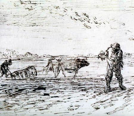 Jean-François Millet - Sower