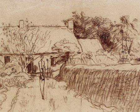 Jean-François Millet - A Farm