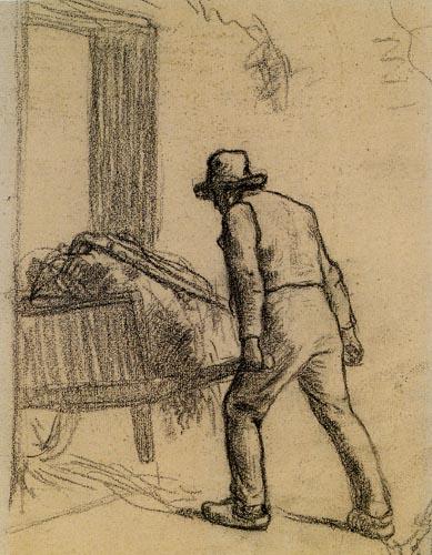 Jean-François Millet - The Man with the Wheelbarrow