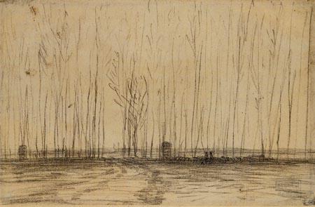 Jean-François Millet - Trees