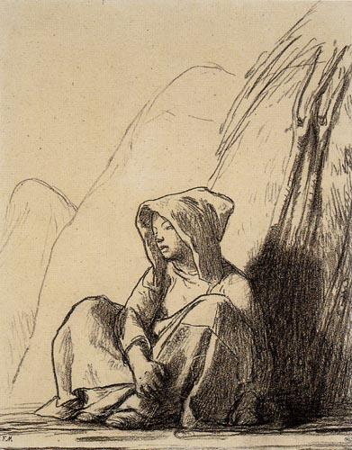 Jean-François Millet - Farmer Girl