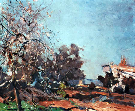 Joaquim Mir i Trinxet - Flowering almond tree