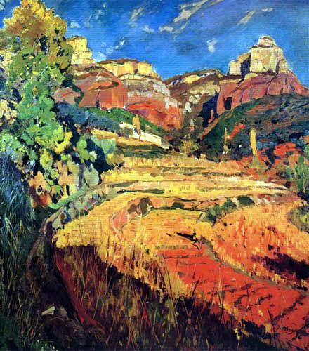Joaquim Mir i Trinxet - Das rote Tal