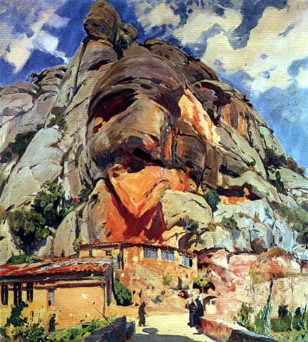 Joaquim Mir i Trinxet - Monastery in Montserrat