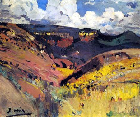 Joaquim Mir i Trinxet - Landscape