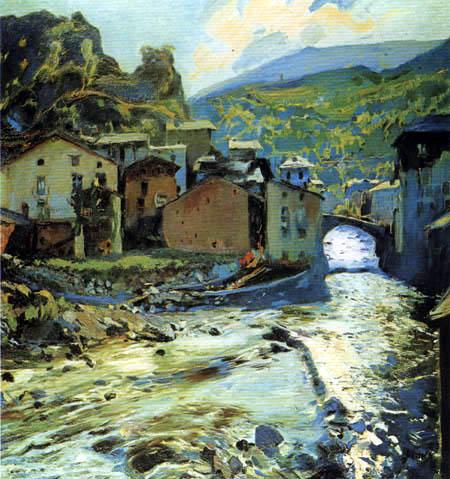 Joaquim Mir i Trinxet - The Bridge Les Escaldes, Andorra