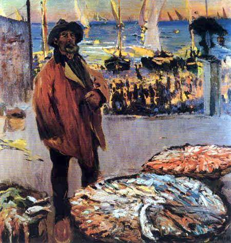 Joaquim Mir i Trinxet - Der Fischverkäufer