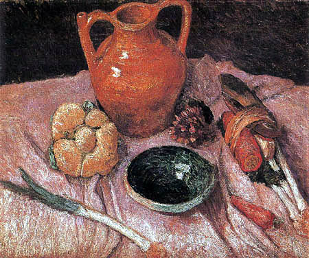 Paula Modersohn-Becker - Still life with Jug
