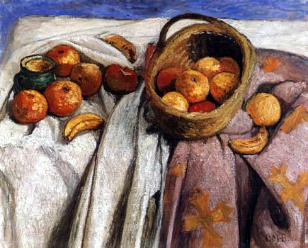 Paula Modersohn-Becker - Still life with apples and bananas