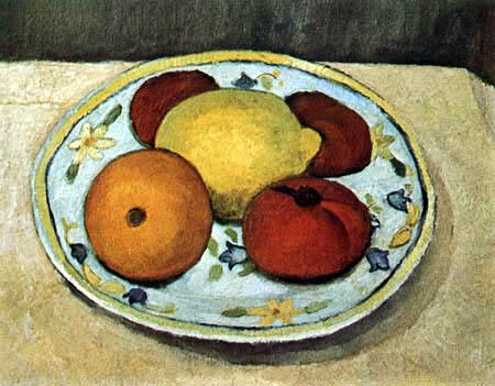 Paula Modersohn-Becker - Still life with fruits