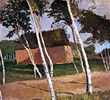 Paula Modersohn-Becker - Worpsweder Landschaft