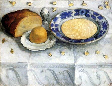 Paula Modersohn-Becker - Frühstückstisch