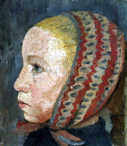 Paula Modersohn-Becker - Girl in profile