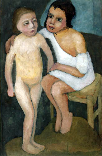 Paula Modersohn-Becker - Two Girls