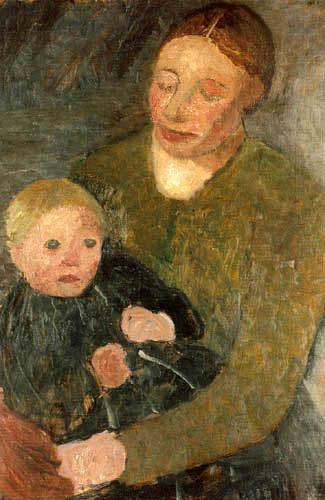 Paula Modersohn-Becker - Mutter und Kind