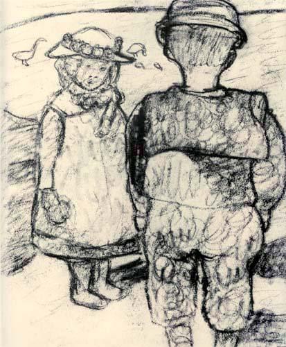 Paula Modersohn-Becker - Zwei Kinder