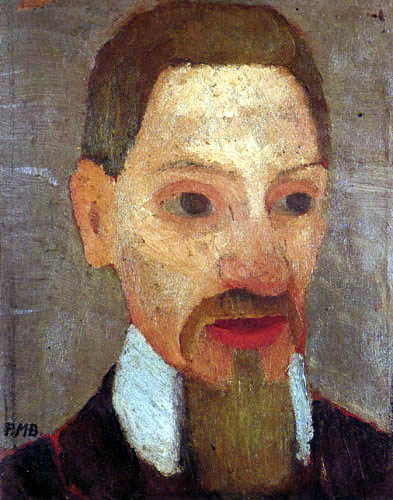 Paula Modersohn-Becker - Der Dichter Rainer Maria Rilke