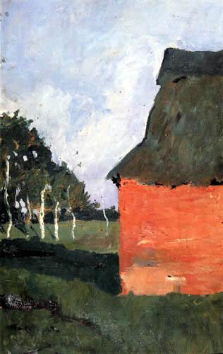 Paula Modersohn-Becker - Rotes Haus