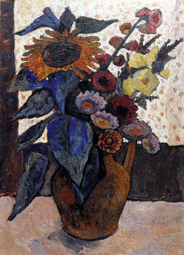 Paula Modersohn-Becker - Still Life with Sunflower