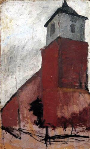 Paula Modersohn-Becker - Worpsweder Kirche