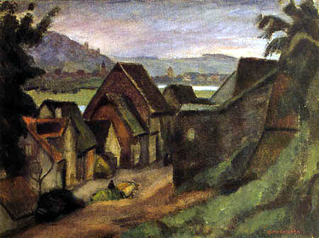 Otto Modersohn - View of Wertheim