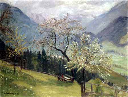 Otto Modersohn - Frühlingsmorgen am Gailenberg