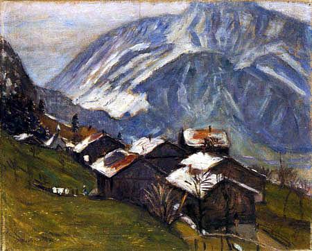 Otto Modersohn - Frühjahr am Gailenberg