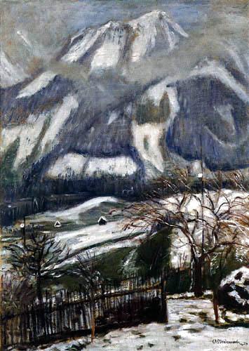 Otto Modersohn - Letzter Schnee