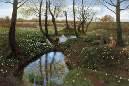 Otto Modersohn - First Spring