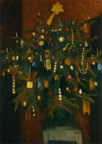 Otto Modersohn - Weihnachtsbaum