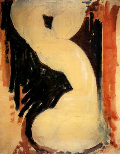 Amedeo Modigliani - Karyatide