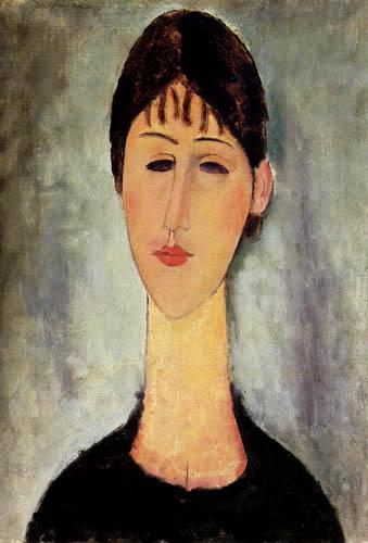 Amedeo Modigliani - Madame Zborowska