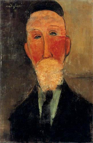Amedeo Modigliani - Porträt Eugene Pratje