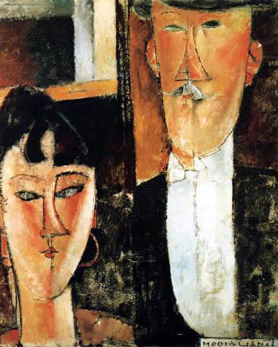 Amedeo Modigliani - Bride and groom