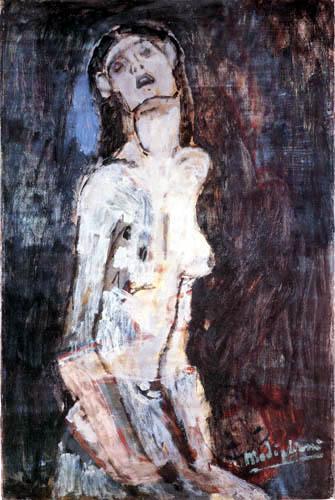 Amedeo Modigliani - Nudo Dolente