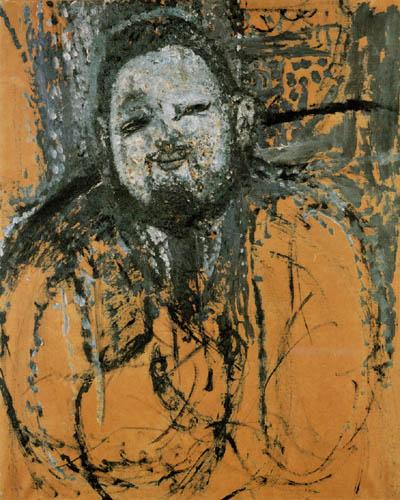 Amedeo Modigliani - Portrait d'peintre Diego Rivera
