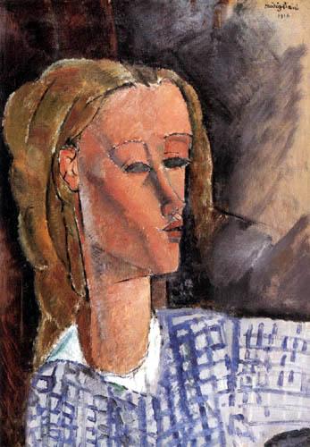 Amedeo Modigliani - Portrait Beatrice Hastings