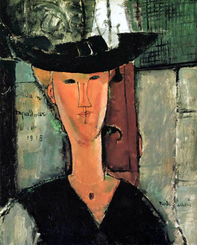Amedeo Modigliani - Madame Pompadour