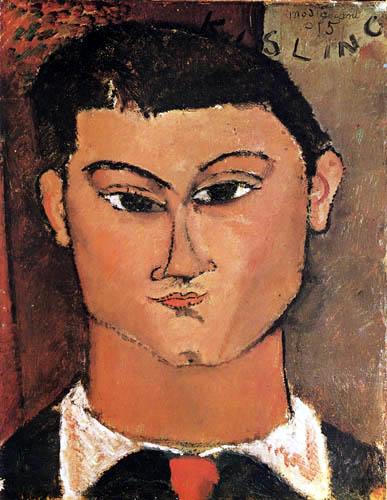 Amedeo Modigliani - Portrait de Moise Kisling