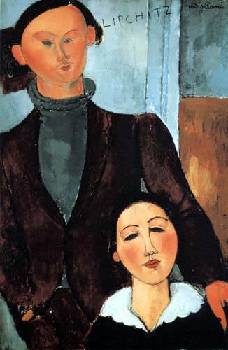 Amedeo Modigliani - Jacques Lipchitz mit seiner Frau