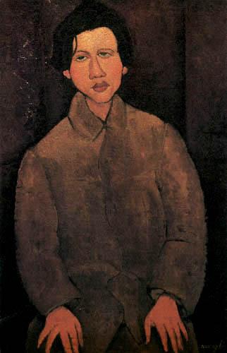 Amedeo Modigliani - Portrait Chaim Soutine
