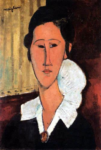 Amedeo Modigliani - Portrait Anna Zborowska