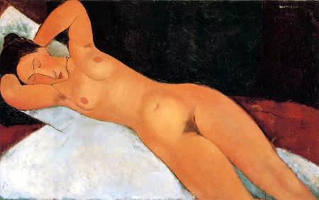 Amedeo Modigliani - Nu
